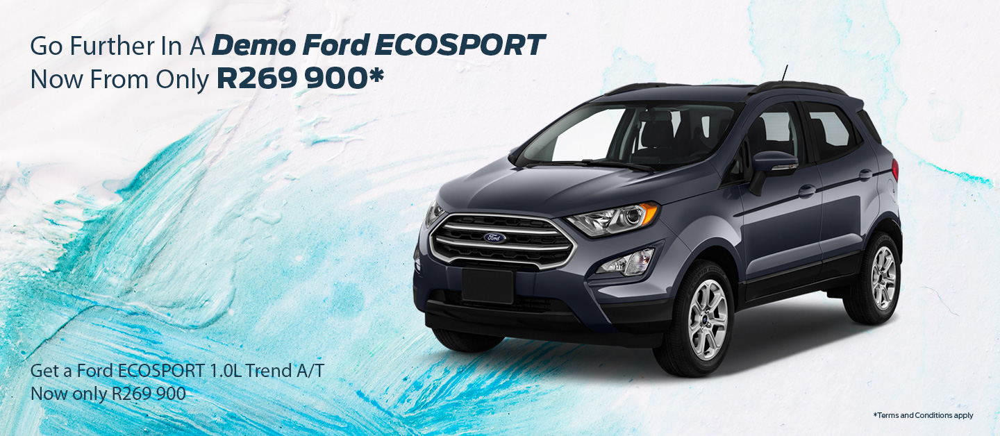 MASSIVE FORD ECOSPORT DEMO SALE