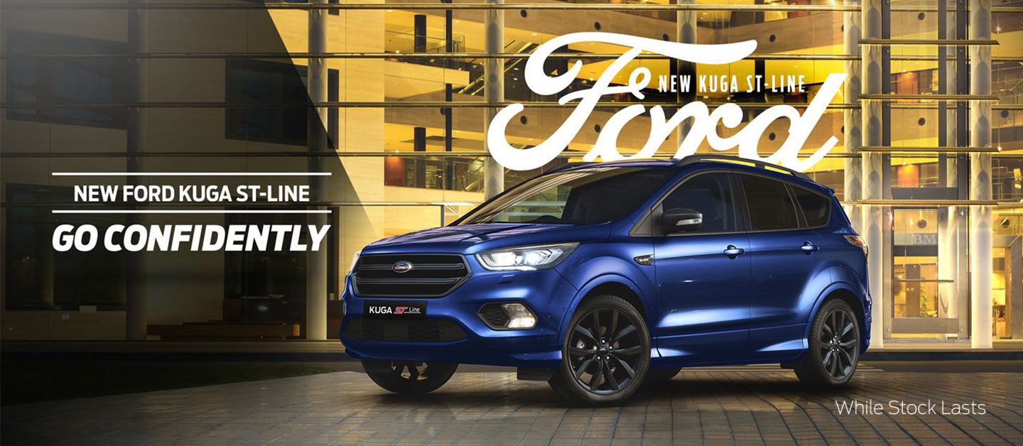 New Ford Kuga ST-Line Go Confidently