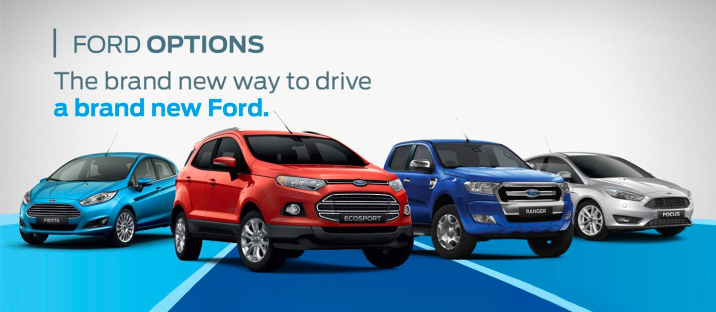 Ford Options Home Banner