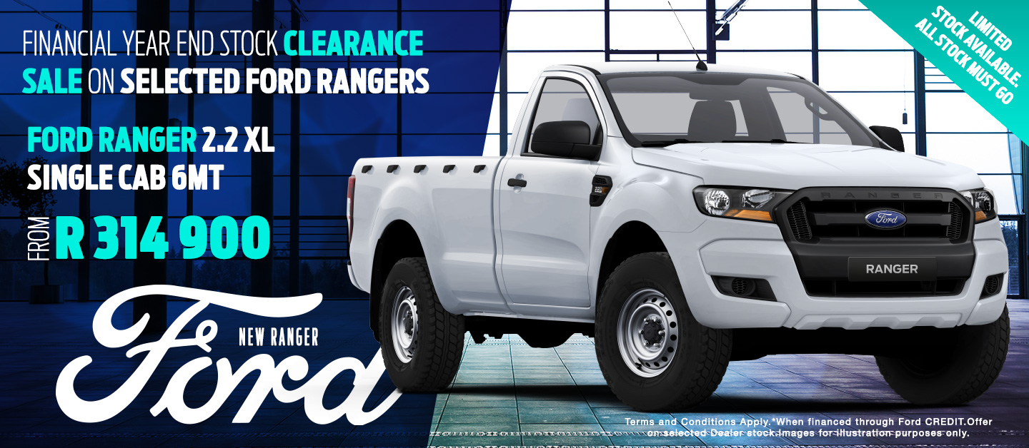 Ford Ranger 2.2 XL Single Cab 6MT from R314 900